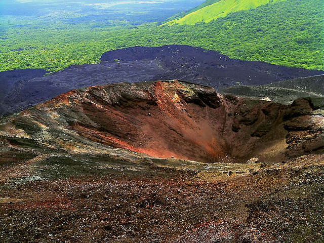 Destination Nicaragua -volcan