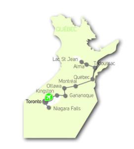 canada-est-itinéraire