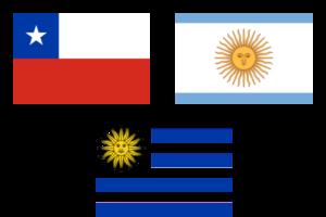 uruguay-chili-argentine-drapeau