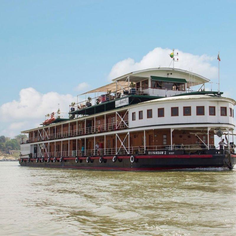 Votre bateau de croisière au Laos avec Via Dream
