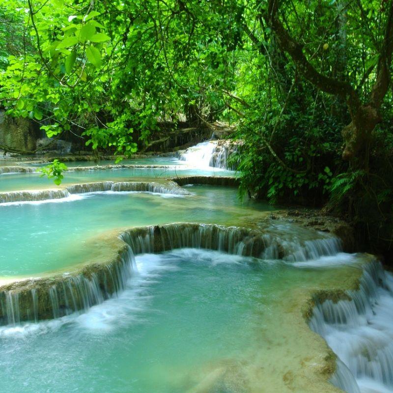 Chutes de Kuangsi en croisière au Laos avec Via Dream