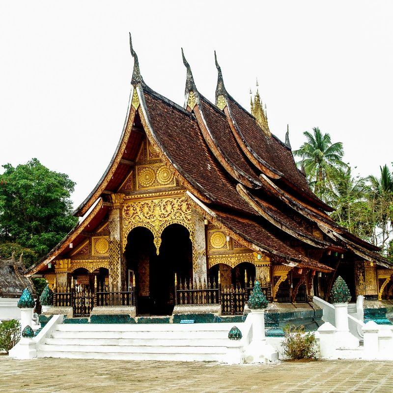 Luang Prabang et le temple Wat Xieng Thong en croisière au Laos par Via Dream