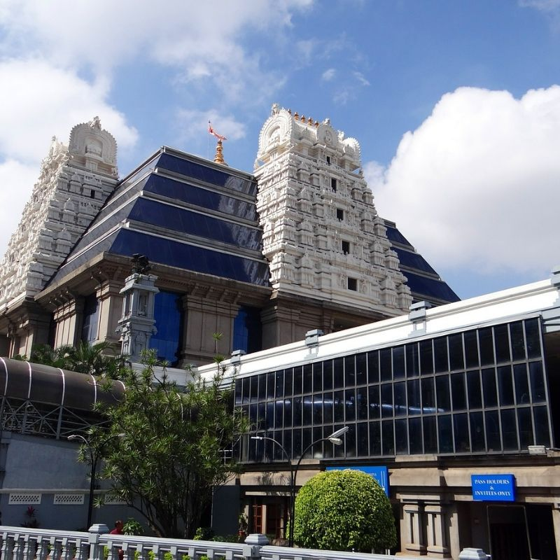 A Mayapur ISKCON Hare Krishna en croisière Inde et Gange par Via Dream
