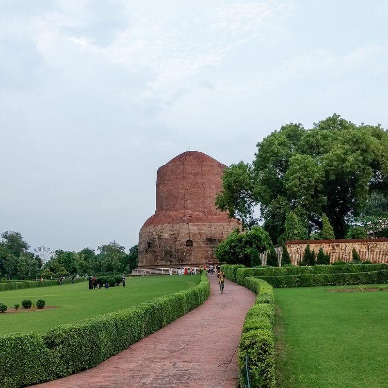 Sarnath sermon Bouddha en croisière Inde et Gange par Via Dream
