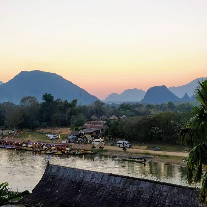 Rives du Mékong en croisière au Laos par Via Dream