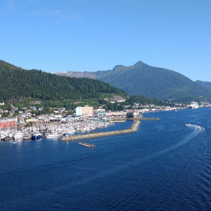 Juneau au début de la croisière Alaska de Via Dream
