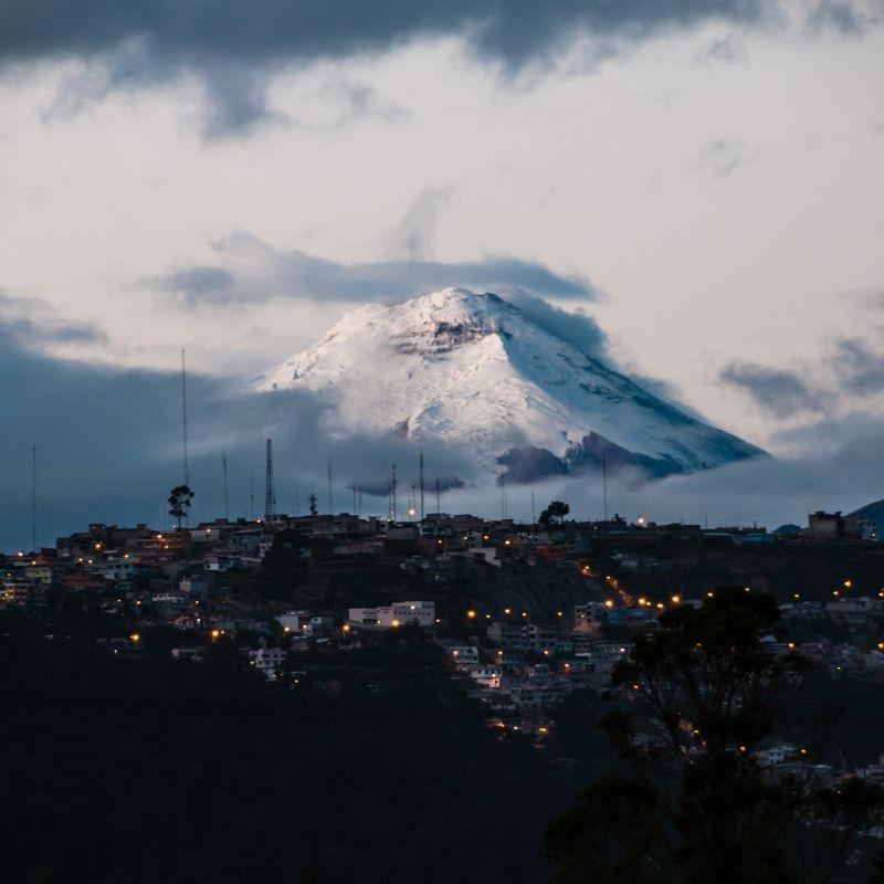 Quito au début de la croisière Galapagos de Via Dream