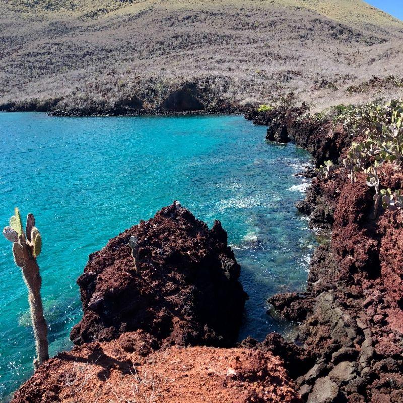 A Santa Cruz la pointe du Carrion en croisière aux Galapagos avec Via Dream