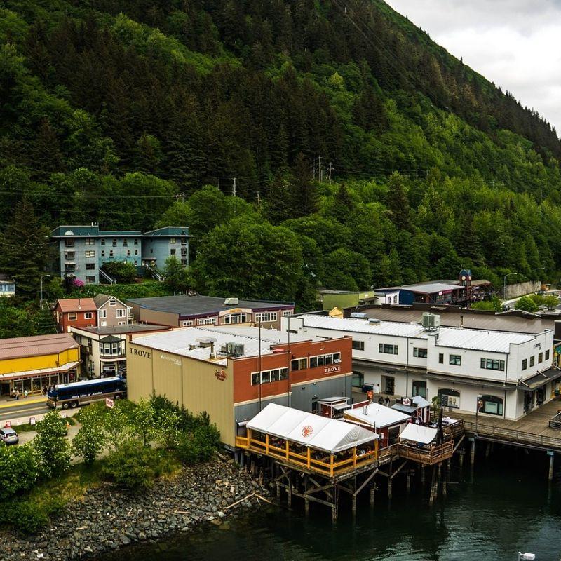Juneau ville de la croisière Alaska par Via Dream